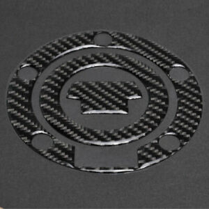 Gas Tank Fuel Cap Cover Protector Pad for Yamaha YZF R1//R6//FZ Real Carbon Fiber