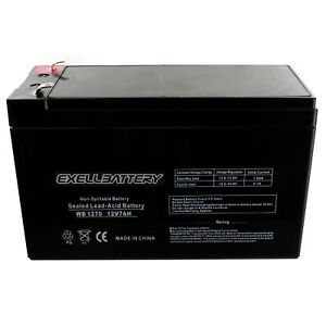 Mighty Max Battery 12V 7Ah UPS Battery for Emerson UPS200-6 Pack Brand Product