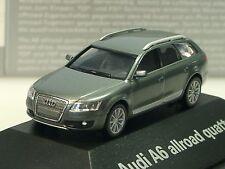Herpa Audi A6 allrad quattro grau metalic - PC dealer model - 379567 - 1/87