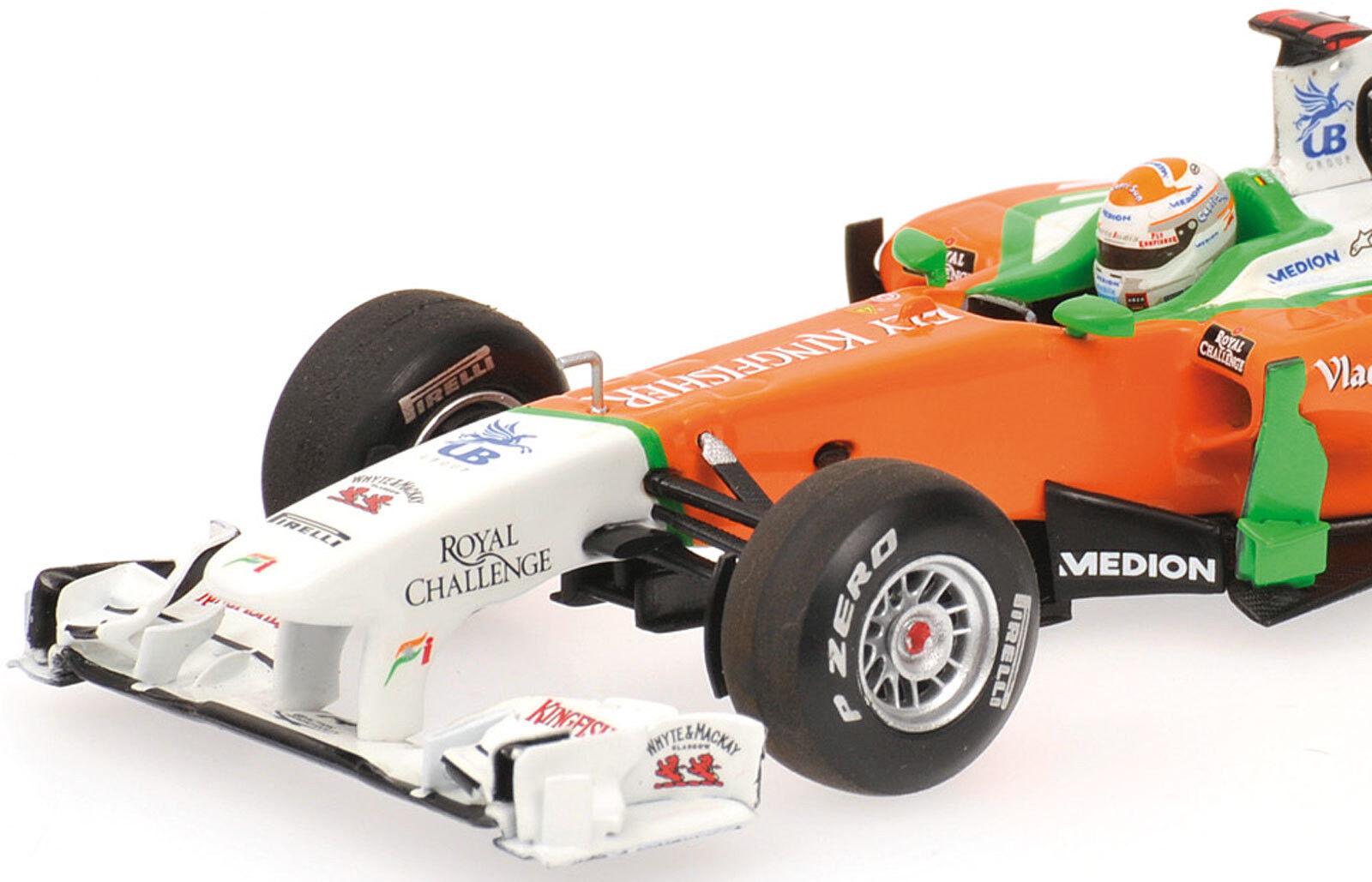 Minichamps 1 43 2011 Force India Mercedes Vjm04 Adrian Sutil 410110014