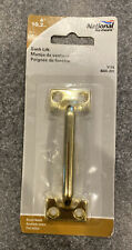 """National Stanley 4/"""" Sash Lift Die-Cast Zinc N331-231 V173 Brass Window Hardware"""