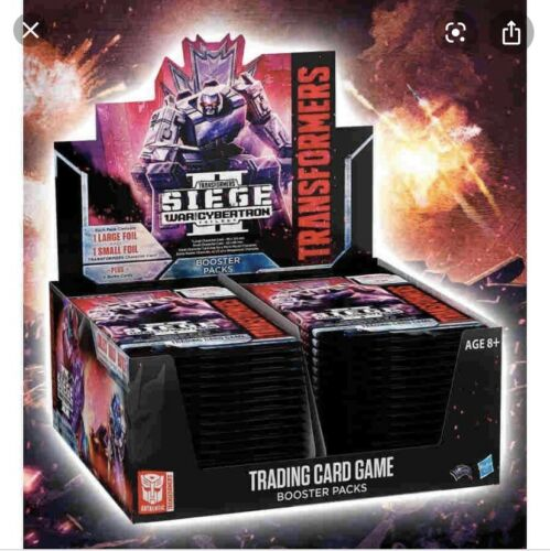 TRANSFORMERS TCG WAR FOR CYBERTRON SIEGE II SEALED BOOSTER BOX!