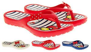 Girls-Beautiful-HELLO-KITTY-Flip-Flops-Summer-Shoes-Sandals-Sz-Size-11-12-13-1-2