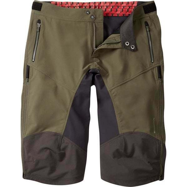 Madison homme Zenith 4-Saison DWR Mountain Bike MTB DH FR Trail Short