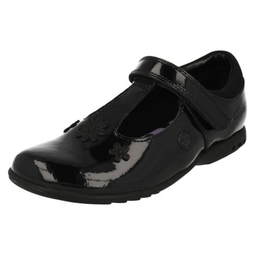 Infant Girls Clarks School Shoes with Lights Trixi Beau