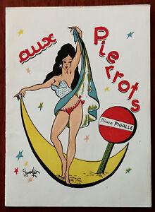 Aux Pierrots, Posto A Pigalle, Paris, Vintage Souvenir Programma, Cabaret, 1940