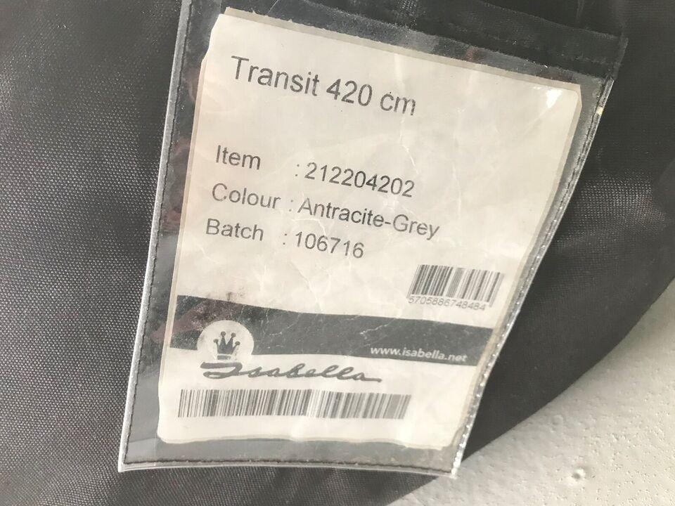 Fortelt, Isabella Transit 420, a-mål: 420