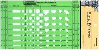 Berol Rapidesign Template - Pipe Fitting - R-49