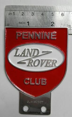 VINTAGE LAND ROVER CAR badge DEFENDER FOR SALE CLASSIC series 1 2 3 a PENNINE