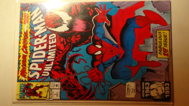 Spider-Man Unlimited #1 CARNAGE May 1993, Marvel 9.8 NM+ HIGH GRADE COMIC