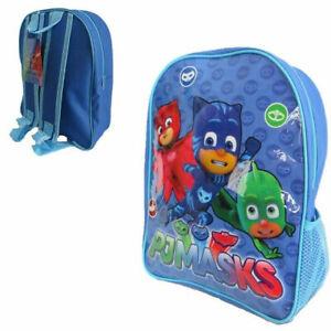 100/% Official PJ Masks 3D EVA Kids Boys School Bag Rucksack Backpack Gift NEW