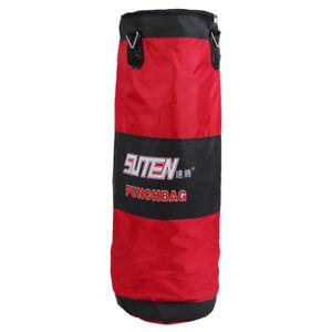 SUTEN-100cm-Drei-Schicht-verdicken-Hohl-MMA-Muay-Thai-Boxing-Boxsack-Sandsa-T4G0