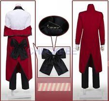 Black Butler Shinigami Grell Sutcliff Uniform Cosplay Costume