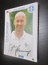 43594 Frank Steinmetz Darmstadt 98 14-15 original signierte Autogrammkarte