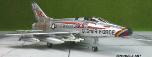 RARE-MODEL-Hobby-Master-HA2103-F-100D-SuperSabre-USAF-20th-TFW-034-Triple-Zilch-034