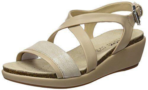 Geox Donna SandalEU/- W Abbie 5 Wedge SandalEU/- Donna Pick SZ/Color. 9d9078