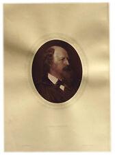 1883 - ALFRED TENNYSON - British Poet - Photograph