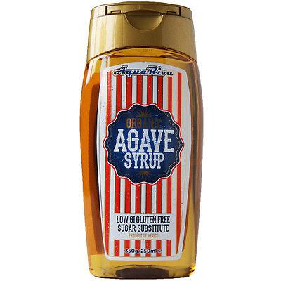 AQUA RIVA ORGANIC AGAVE SYRUP - 250ML