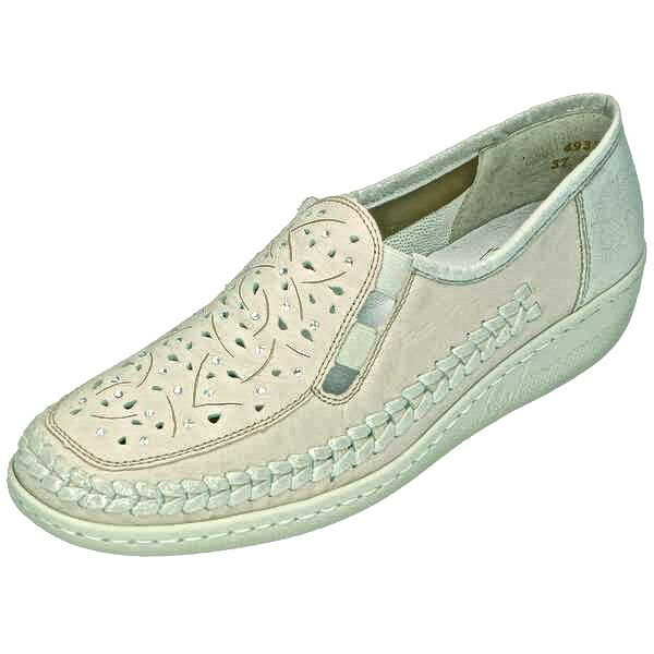 Rieker chaussures femmes chaussures Slipper, Cuir, Taille 36-42, Art. 49357-60 +++ NEUF +++