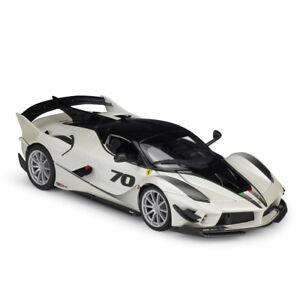 Evo Model 70 Diecast No Bburago White K 18 Ferrari 1 Fxx Racing Car O8n0wPk