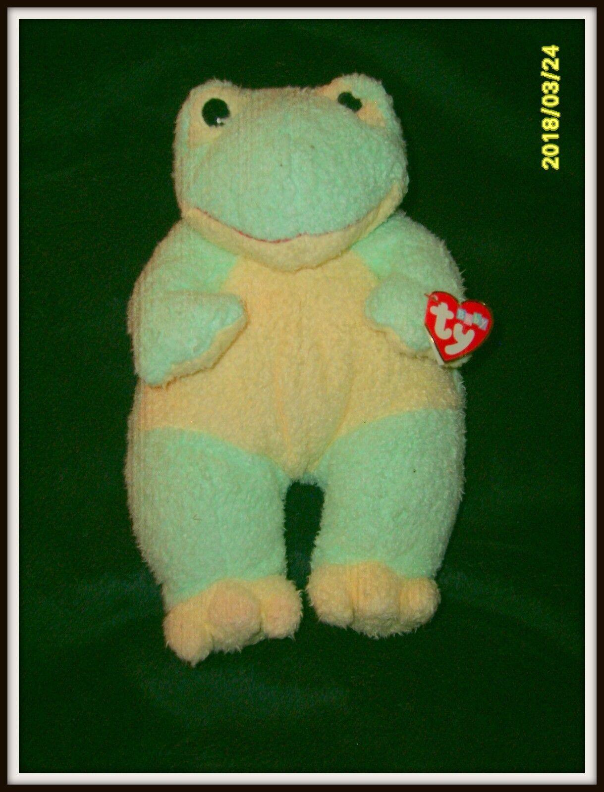 Baby - ty - frogbaby der frosch plüsch mit rattle in - 1999 veröffentlichung selten neue