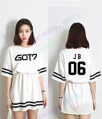 KPOP GOT7 Dress JB Jr. Young Jae Cotton Skirt