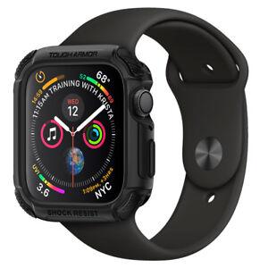 Apple-Watch-Series-4-44mm-Spigen-Tough-Armor-Shockproof-Double-Cover-Case