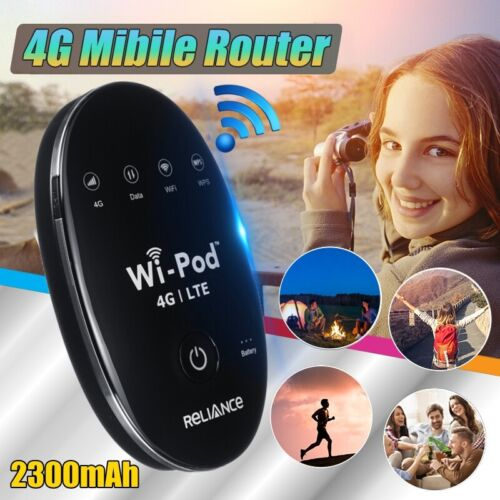 4G LTE WiFi Mifi Wireless Router Mobile Broadband Modem 150Mbps Hotspot Unlocked