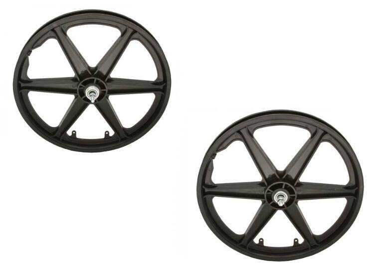 20   Rear & Front Bicycle Plastic BMX Wheels set