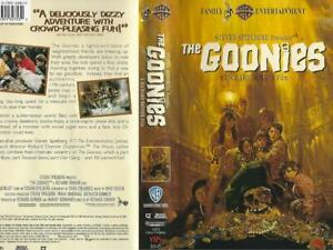 Vhs The Goonies Sean Astin Josh Brolin 85391327530 Ebay