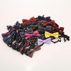 Baby-Kids-Toddler-Boy-Girl-Party-Bowtie-Pre-Tied-Wedding-Bow-Tie-Necktie
