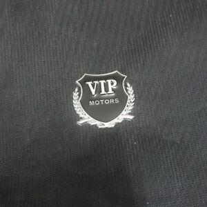 1x Metal Vip Silver Motors Badge Emblem Sticker Car Engine Turbo Sports 3d Logo Ebay