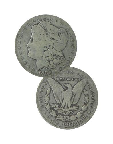 Pre 1921 Silver Morgan Dollar Cull Lot of 5 S$1 Mix Dates /& Mints 1878-1904