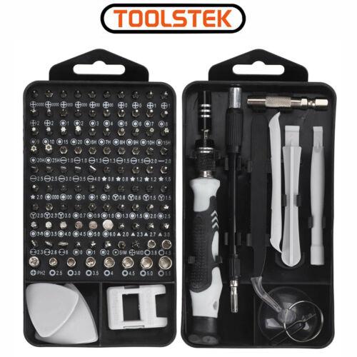 117 in 1 Electric Precision Screwdriver Set For Computer Pc Phone Repair Tool UK