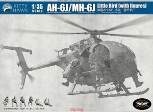 Kitty-Hawk-50004-1-35-AH-6J-MH-6J-Little-Bird-w-Figures-Hot