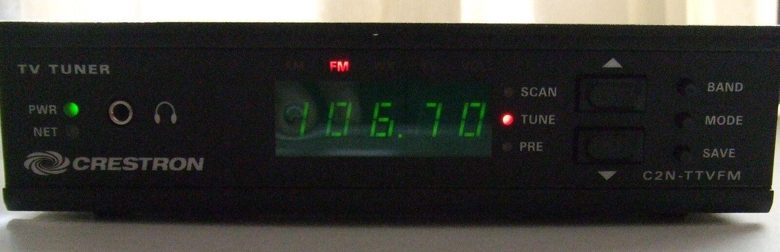 CRESTRON C2N-TTVFM TV AND FM TUNER