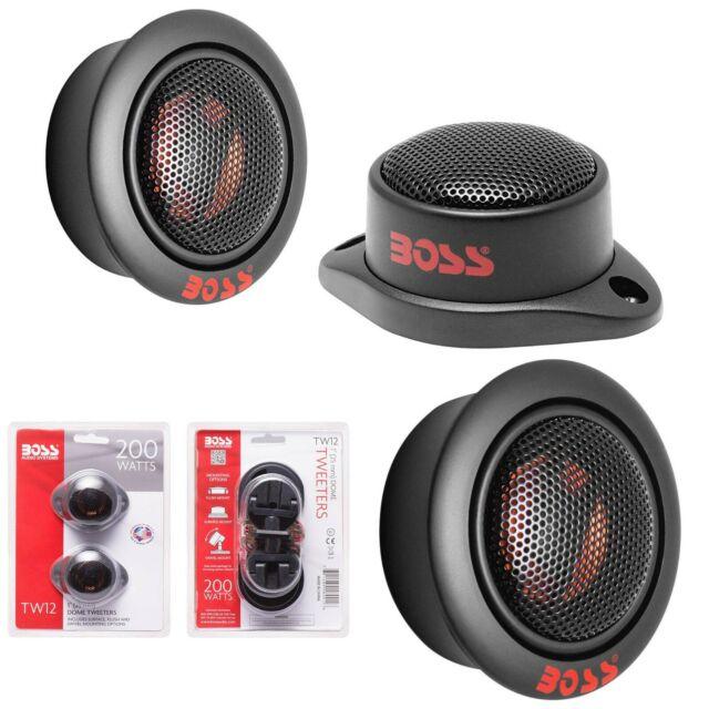 Per Pair Sold in Pairs 1 Inch Car Tweeters BOSS Audio TW12 200 Watt