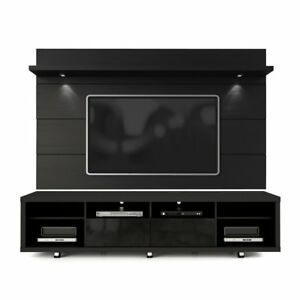 Manhattan Comfort Cabrini 70 Tv Stand With Floating Wall Tv Panel