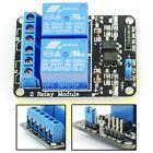 Modulo Relè Relay 2 Canali 5V compatibile con Arduino PIC AVR DSP PLC TTL bl7y