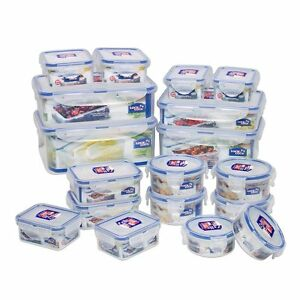 Details about LOCK & N AND LOCK Airtight Plastic Kitchen Food containers  box storage Classic