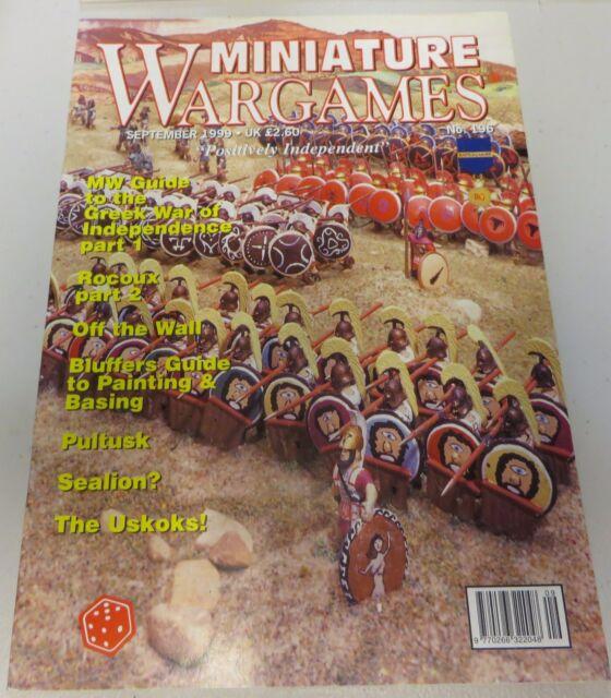 Miniature Wargames Number 196 September 1999 oop SC