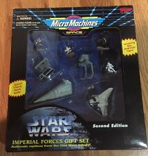 STAR WARS MICRO MACHINES SPACE SECOND EDITION IMPERIAL FORCES GIFT SET 1995 MIB