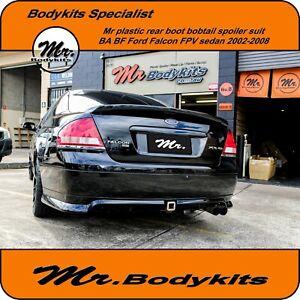 Plastic-Rear-Boot-Bobtail-Spoiler-Wing-Ford-Falcon-FPV-BA-BF-2002-2008-560