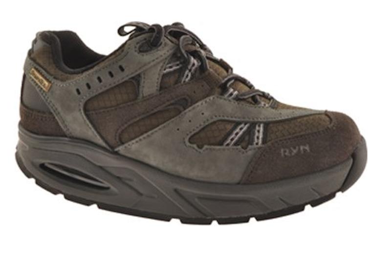 Ryn Women's Charcoal Trail Walking shoes  (US Women's 6 M) Korean 230