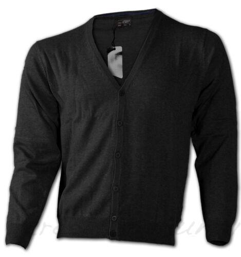 jn661 3xl * Uomo Cardigan Maglioncino V-Neck Pullover A Maglia Sweater Maglione Neus