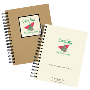 Christmas The Holiday Journal 200 Pages 9 X7 Spiral Bound Hardcover New 835445001073 Ebay