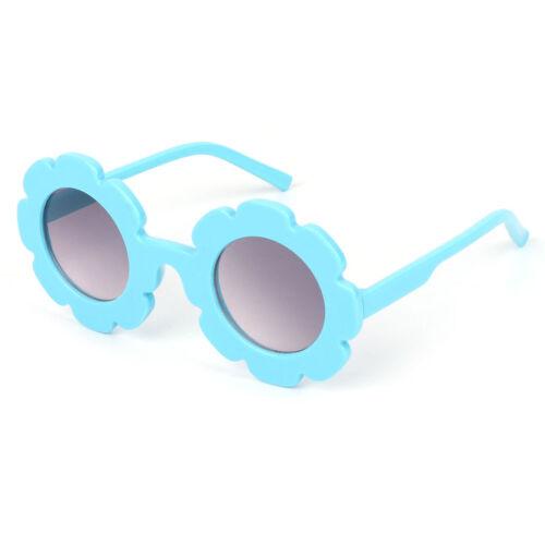 Hot Sale Kids Sunglasses Cute Flower Frame Round Fashion UV400 Summer Protector