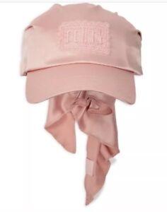 New Fenty By Puma Rihanna Bandana Cap Satin Silver Pink Women Head ... e215cc8c4af