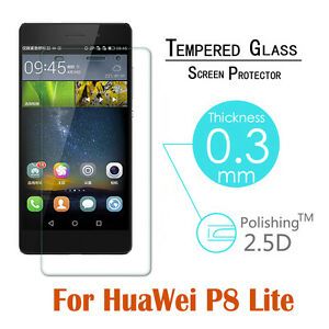 2 PCS Real Tempered Glass Screen Protective Film For Huawei P8 Lite P9 P10 9H