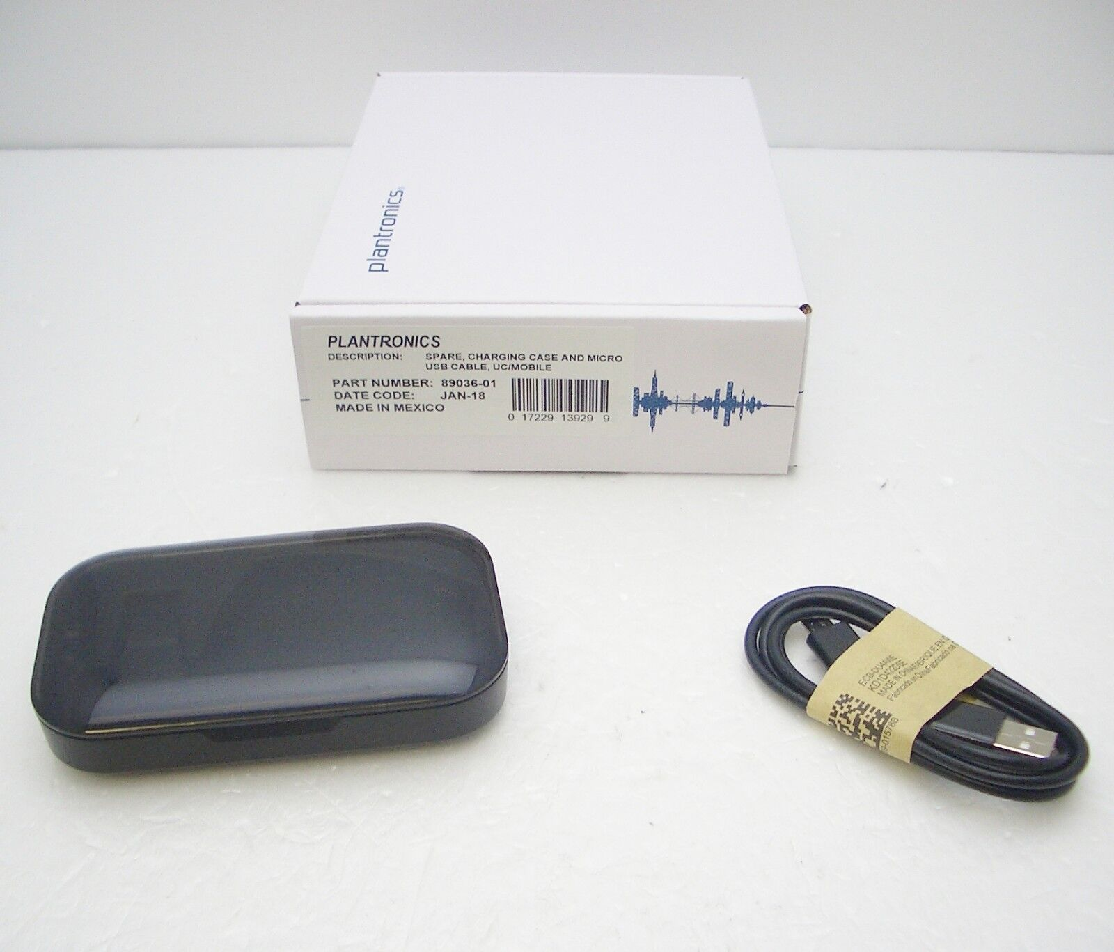 low priced 03544 47fb1 Details about CHARGING CASE for Plantronics Voyager Legend Bluetooth  Headset + Micro-USB Cable
